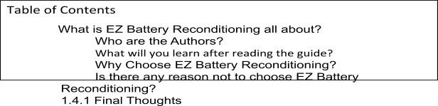 EZ BATTERY-RECONDITIONING