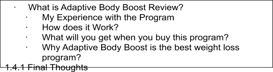 Adaptive Body Boost Review1